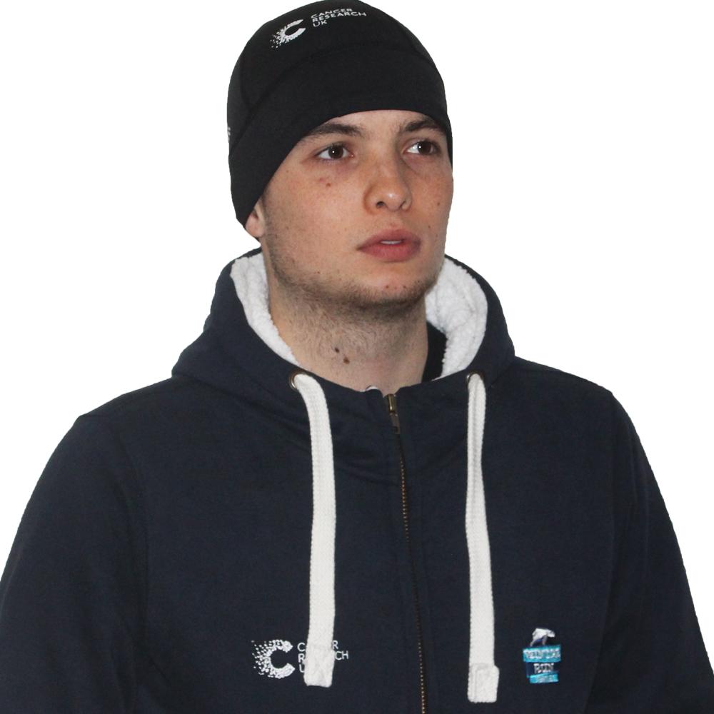 c33be301814942 2019 Cancer Research UK London Winter Run Skull Cap | Official Human ...